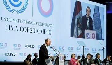 2014  Francisco I a los expertos en cambio climático